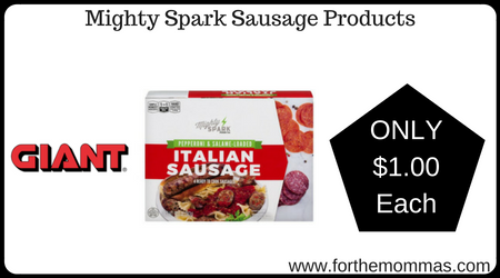Mighty Spark Sausage Products