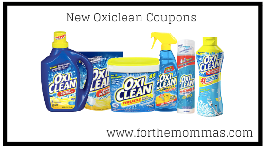 New Oxiclean Coupons Worth $4.50