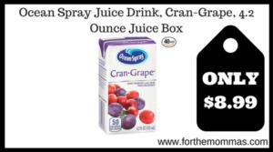 Ocean Spray Juice Drink