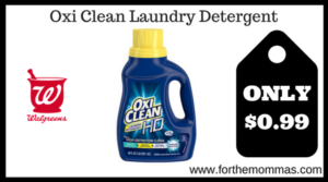 Oxi Clean Laundry Detergent