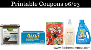 Printable Coupons Roundup 06 03 Save On Aveeno Aleve Depend