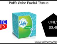 Puffs Cube Facial Tissue