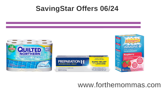 New SavingStar Offers 06/24: Quilted Northern, Nexium, Preparation and More