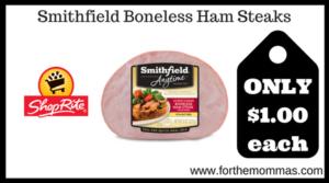 Smithfield Boneless Ham Steaks