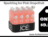 Sparkling Ice Pink Grapefruit