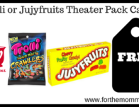 Trolli or Jujyfruits Theater Pack Candy
