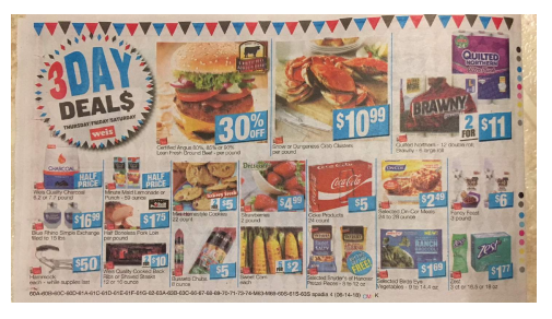 Weis 3-Day Sale: 06/14/18 -06/16/18 | Deals on Minute Maid, Brawny and More