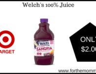 Welch's 100% Juice