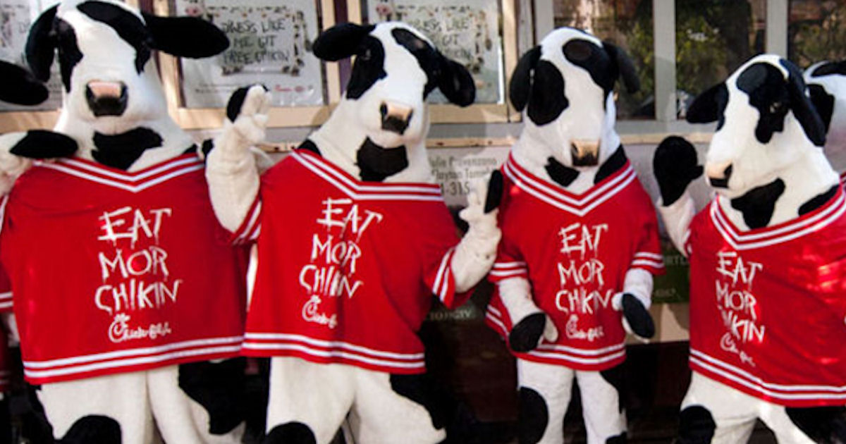 Chick-fil-A Cow Appreciation Day on July 10th