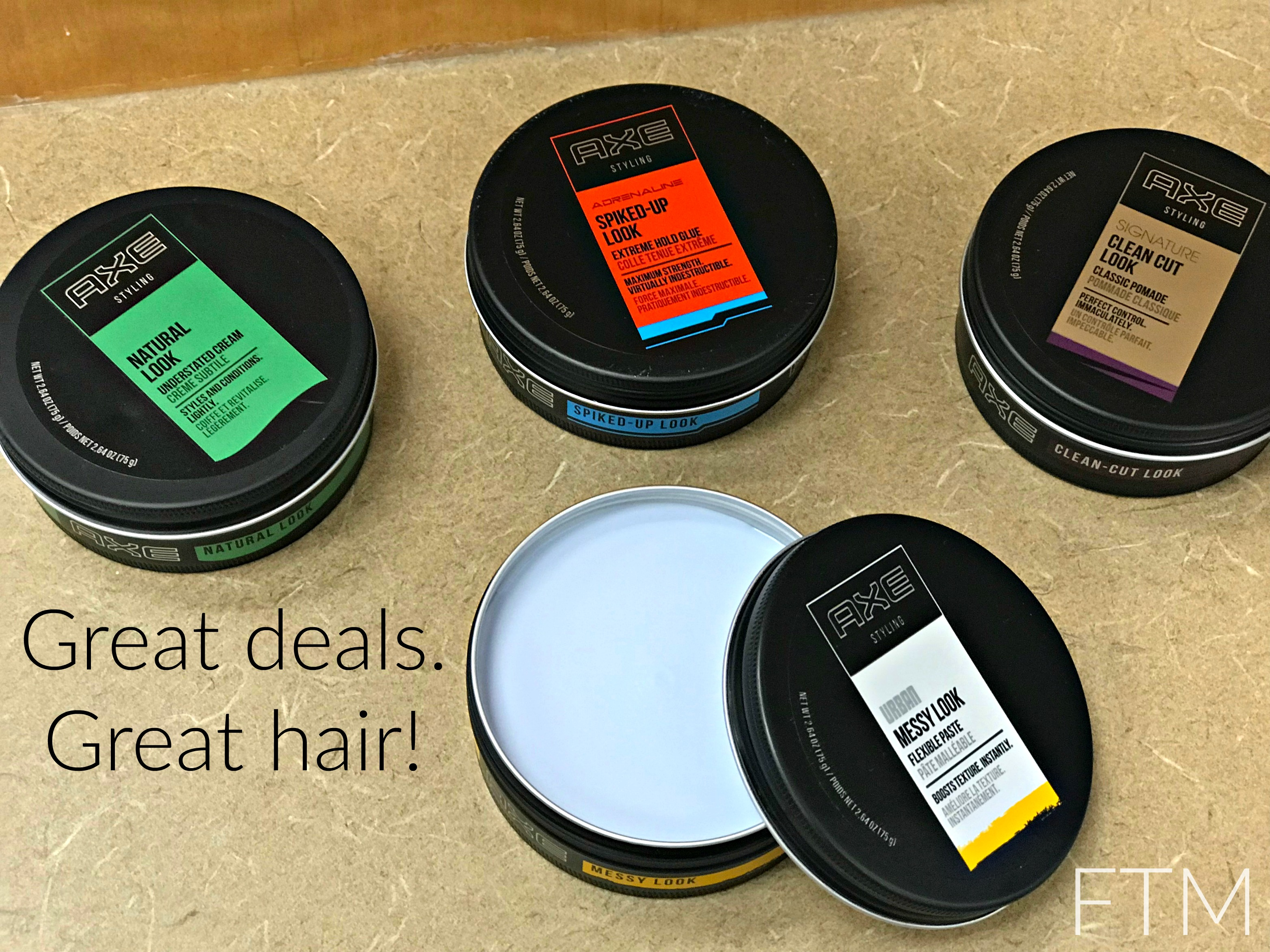 Axe Styling at CVS: Haircare for Him