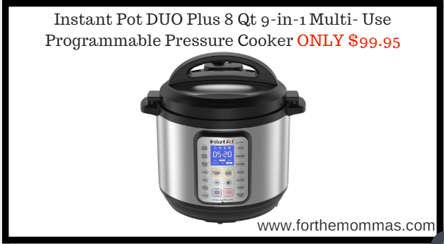 Instant Pots Duo Evo Plus is only $100 on Amazon