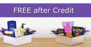 FREE Amazon Credit with 12 Sample Boxes