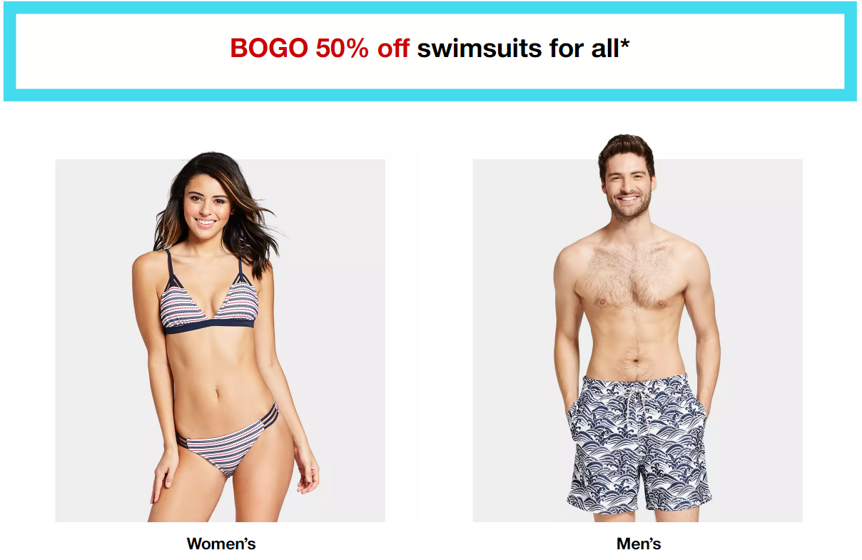 e6835bbdd70 Target: Buy One, Get One 50% Off Swimwear for the Whole Family - FTM