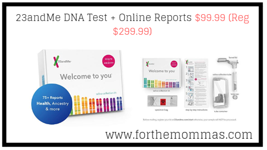 23andme dna test   online reports  99 99  reg  299 99