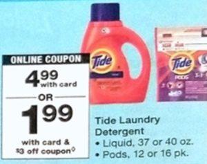 Tide Laundry Detergent & Tide Pods