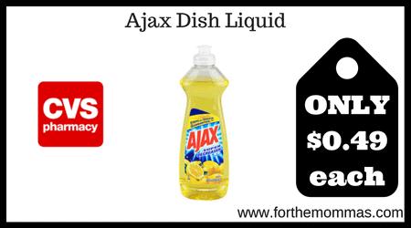 Ajax Dish Liquid