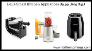 Bella Small Kitchen Appliances