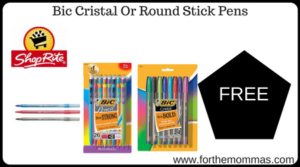 Bic Cristal Or Round Stick Pens