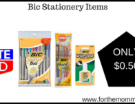 Bic Stationery Items