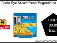 Birds Eye Steamfresh Vegetables ONLY $0.99 Each Thru 5/25! {No Coupons Needed}