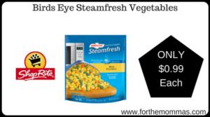 Birds Eye Steamfresh Vegetables