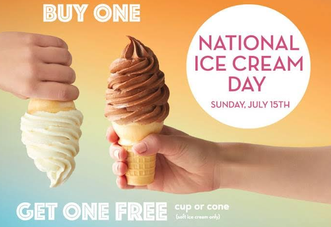 Carvel: Buy One Get One Free On Soft Serve Cone or Cup