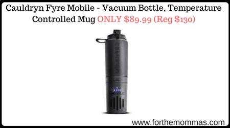 Cauldryn Fyre Mobile - Vacuum Bottle, Temperature Controlled Mug