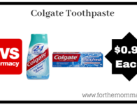 Colgate Toothpaste ONLY $0.99 Starting 6/30