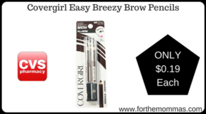 Covergirl Easy Breezy Brow Pencils