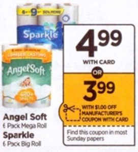 Rite Aid Angel Soft Bath Tissue Only 3 49 Starting 7 22 Ftm