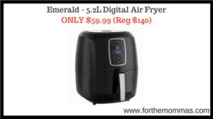 Emerald - 5.2L Digital Air Fryer
