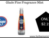 Glade Fine Fragrance Mist