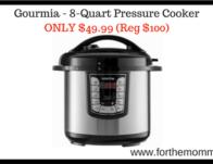 Gourmia – 8-Quart Pressure Cooker ONLY $49.99</body></html>