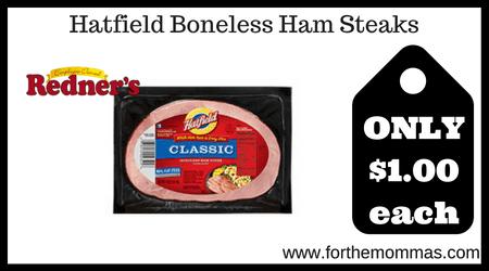 Hatfield Boneless Ham Steaks