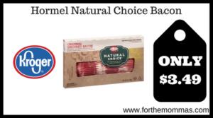 Hormel Natural Choice Bacon