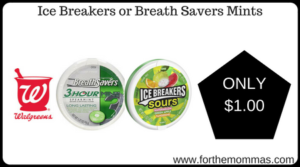 Ice Breakers or Breath Savers Mints