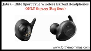 Jabra - Elite Sport True Wireless Earbud Headphones