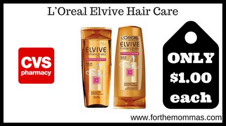LOreal Elvive Hair Care
