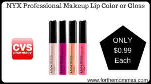 NYX Professional Makeup Lip Color or Gloss