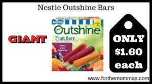 Nestle Outshine Bars