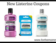 New Listerine Coupons