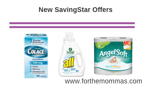 New SavingStar Offers 07/22: Colace, Angel Soft, Brawny and More