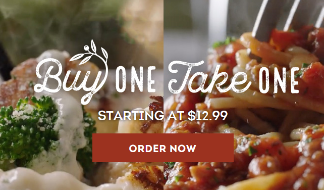 Olive Garden Buy One Take One Deal Ftm