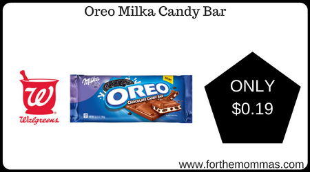 Oreo Milka Candy Bar