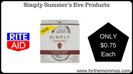Simply Summer's Eve Products