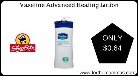 Vaseline Advanced Healing Lotion