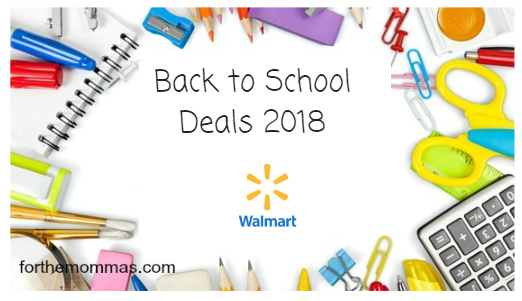 Walmart Back to School Deal 07/29-08/04