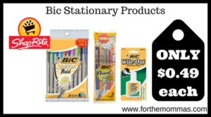 Bic Stationary Products