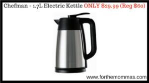 Chefman - 1.7L Electric Kettle