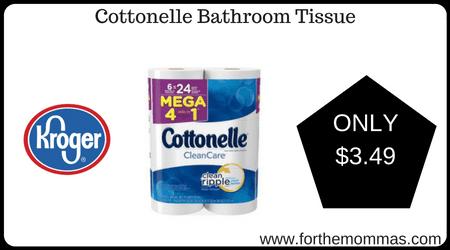 Kroger Mega Sale Cottonelle Bathroom Tissue ONLY FTM - Bathroom tissue on sale